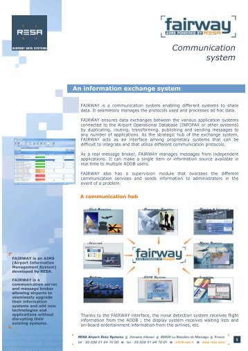Communication system - RESA