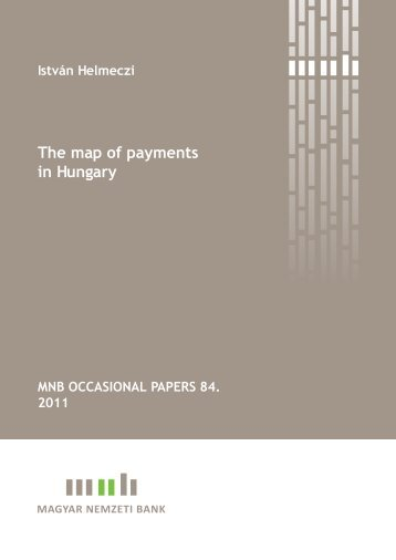 The map of payments in Hungary - Magyar Nemzeti Bank