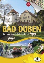 Kur- und Urlaubskatalog 2013 - Bad Düben