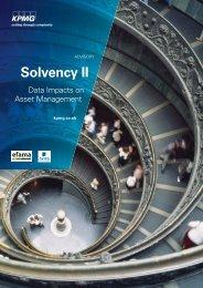 EFAMA KPMG Solvency II Report
