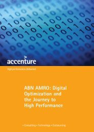 ABN AMRO: Digital Optimization and the Journey to High Performance