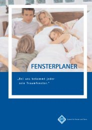 Fensterplaner (pdf) - profenster Weichsel GmbH