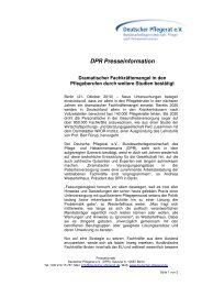 DPR Presseinformation - VPU