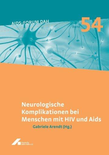Neurologische Komplikationen bei Menschen mit HIV und Aids ...