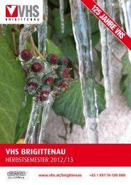 VHS BRIGITTENAU - Verband Wiener Volksbildung