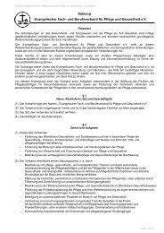 EFAKS-Satzung - EFAKS - Evangelischer Fach