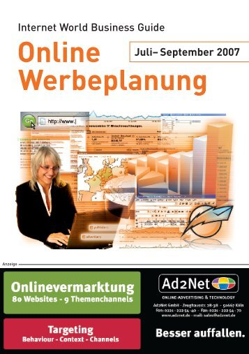Online Werbeplanung - Internet World Business