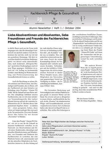 Bologna-Prozess - Hochschule Fulda