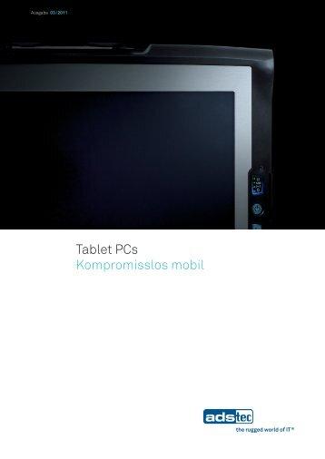 Broschüre Tablet PCs 03/2011 - Andreas Laubner GmbH