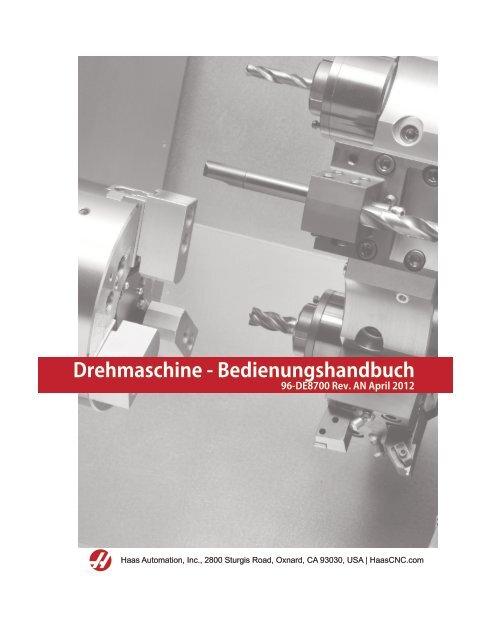 Drehmaschine - Benungshandbuch - Haas Automation, Inc. on