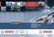 2009 | 2010 Lambdasonden Lambda oxygen sensors Sondes à ...