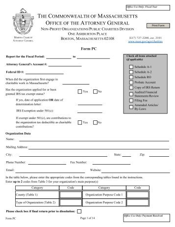 Form AP -1 - Mass.Gov