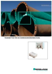 CorrTran-Aqua; Corrosion Monitoring Transmitter ... - Pepperl+Fuchs