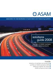 solutions guide 2008 - ASAM