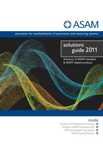 ASAM solutions guide 2011