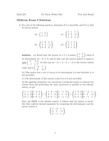 midterm 2 solutions Midterm 2 solutions problem 2 (20 pt) consider teh surface y z−19=xecosz use implicit differentiation to find the first partial derivatives ∂z ∂x and ∂.