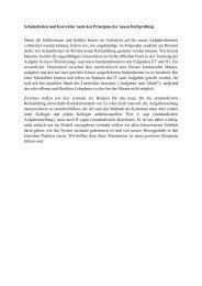 Schularbeiten und Korrektur nach den Prinzipien der neuen ... - Bifie