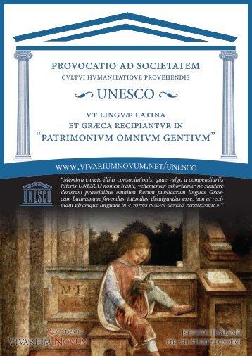 read the appeal - Accademia Vivarium Novum