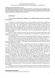 La conférence du fr. Patrick Prétot, o.s.b. - Liturgie catholique