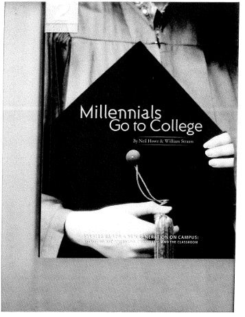 Millenials Go To College 2 (extract)