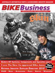 Issue 018 - August 2010 - Bike Business Magazine Home Page
