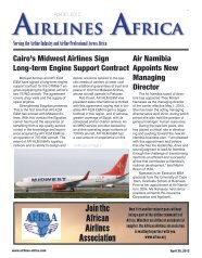 South African Airways and Express Jet A1 ... - Airlines Africa
