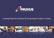 Leading Payment Solution & Processing Provider in Turkey