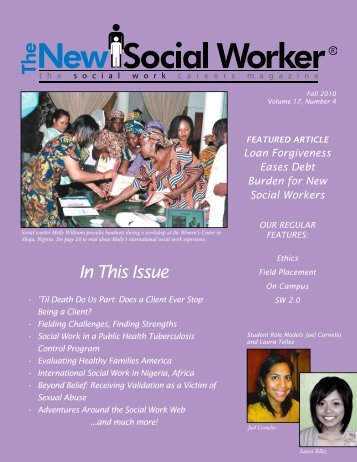 In This Issue - THE NEW SOCIAL WORKER Online