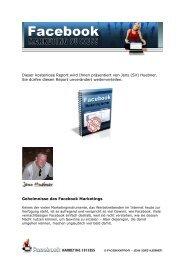 Facebook Marketing Secrets - 123-Tip.com