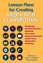 Lesson Plans for Creating MEDIA-RICH CLASSROOMS - National ...