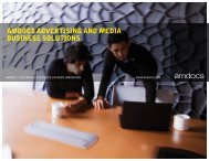 AMDOCS ADVERTISING AND MEDIA BUSINESS SOLUTIONS