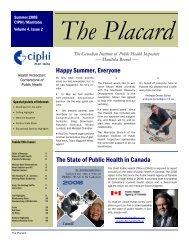 The Placard - Summer 2008.pub - CIPHI Manitoba