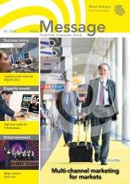 Message Ausgabe 3/2012 - Messe Stuttgart