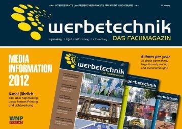 Media inforMation - WNP Verlag