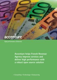 Accenture helps French Revenue Agency improve services and ...