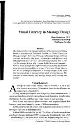 Visual Literacy in Message Design - Ohio University