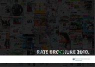 1 | rate BrOCHUre 2010 - Landelijke Media