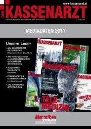 Mediadaten 2011 - Unsere Magazine