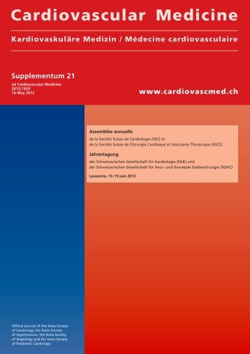 Supplementum 21 - Cardiovascular Medicine