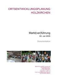 Die nächsten Schritte - Holzkirchen