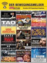 Programm, Bewegungsmelder (2362 kb) - Regensburger Stadtzeitung
