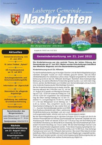 Datei herunterladen (784 KB) - .PDF - Lasberg - Land Oberösterreich