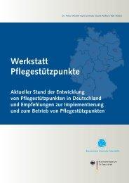 2. Zwischenbericht - Werkstatt Pflegestützpunkte