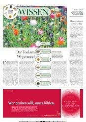 Der Tod am Wegesrand - Fachbereich 5 Biologie - Universität ...