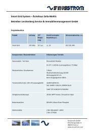 Smart Grid System – Ärztehaus Zella-Mehlis ... - Sinusstrom GmbH