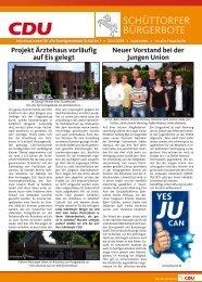 SCHÜTTORFER BÜRGERBOTE - CDU Ortsverband Schüttorf