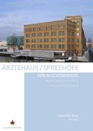 ÄRZTEHAUS/SPREEHÖFE - CG Gruppe
