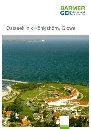 Ostseeklinik Königshörn - Glowe ( PDF , 307 KB ) - Barmer GEK