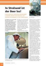 In Stralsund ist der Beer los.pdf - Ostseereporter - Marius Jaster