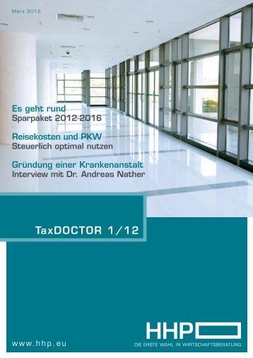 TaxDOCTOR 1/12 - Hammerschmied Hohenegger und Partner
